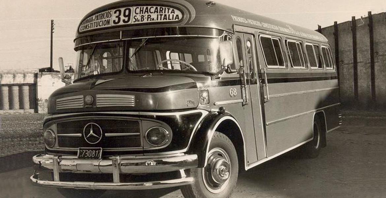 Interno 68 Mercedes-Benz Carrocería El Indio 1114